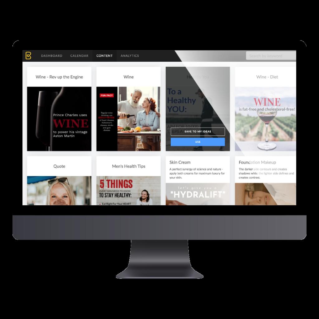 Content Organiser London Social media